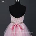 LZ168 Alibaba Schatz kurze Brautkleider China Pink Dress