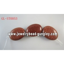 Oval shape Natural Gemstone beads