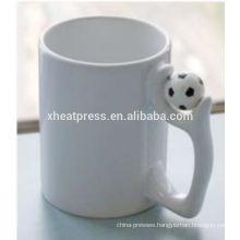 AAA grade quality white ceramic mug, white blank ceramic mug