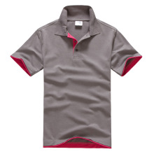 New design Men's POLO T-shirt Customized cotton plain polo t-shirt