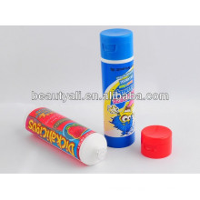 60ml plastic food tube with flip top cap