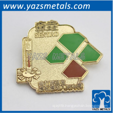 custom made thanks giving souvenir lapel pin