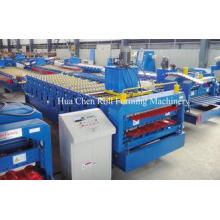 1220mm Automatic Double Layer Roll Forming Machine Cold Rol