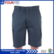 8 bolsillos relajado ajuste de trabajo pantalones cortos de carga (ygk115)