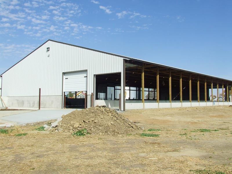Light Steel Frame Structure for Cow Barn