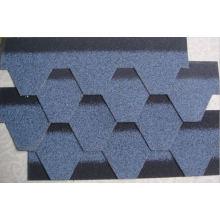 Tuiles de toit de bitume auto-adhésif de 12 couleurs avec l'OIN (chaud)