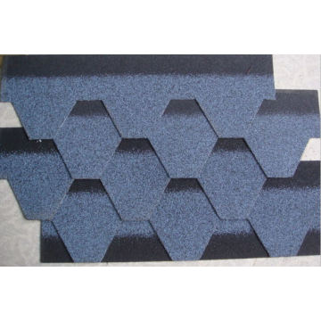 12 Colors Self Adhesive Bitumen Roof Tiles with ISO (Hot)