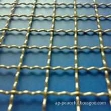 Crimped Wire Mesh, Screening in Mine, Coal Factory, Construction and Other Industries