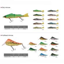 Жесткий пластиковый воблер рыбалка приманка гольян рыбалка заманить