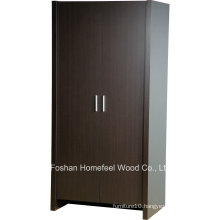 Sturdy & Durable Wooden Bedroom 2 Door Wardrobe Closet (WB78)