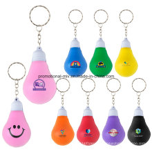 Mini Stress Ball Schlüsselanhänger mit Birnenform