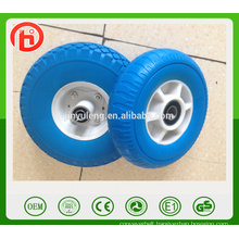 8 inch Plastic rim high quality pu foam solid wheel for Japan, South Korea market