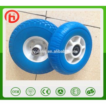 8 inch Plastic rim high quality pu foam solid wheel for Japan, South Korea market
