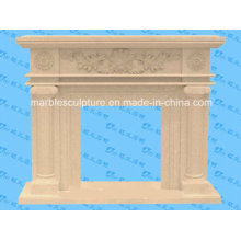 Hot Sale Natural Stone Antique Marble Fireplace (SY-MF144)