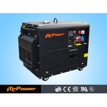 5 кВт дизельный генератор с воздушным охлаждением (тихий тип) ЭЛЕКТРИЧЕСКИЙ ДИЗЕЛЬНЫЙ ГЕНЕРАТОР SET