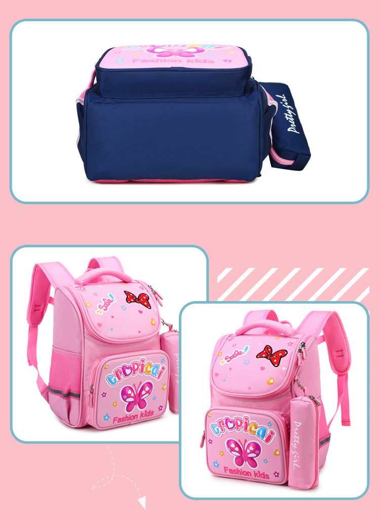 Primary school bag children's 3d backpack cartoon backpack (2)