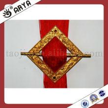 Anel de cortina de resina de ouro, Gancho de cortina, Cortador de cortina para cortina, Prendedor de cortinas e cortinas.