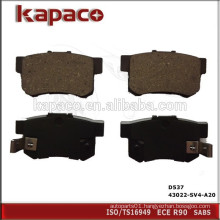 Top Quality Disc Brake Pad Manufacturers for ACURA HONDA SUZUKI D537 43022-SV4-A20