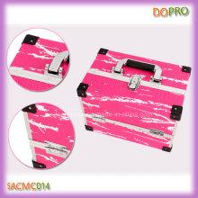 Pink Snakeskin Pattern New Design Aluminum Vanity Case (SACMC014)