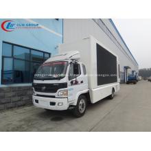 Camion de publicité mobile 100% FOTON 12.2㎡ garanti