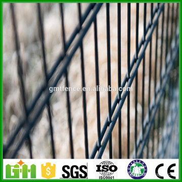 Made in China PVC coated welded 868 galvanized decorative security fashion cheap double wire garden fence