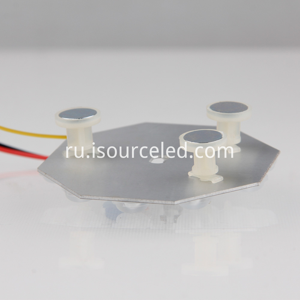 220v smd 2835 Round 5W AC LED Module base plate picture