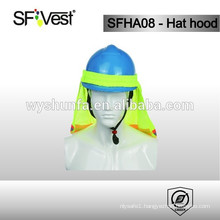 2015 new design high quality reflective safety floppy hat hood with 100% polyester for man