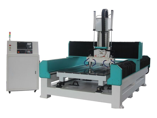 Granito redondo e plano Carving CNC Router Machine