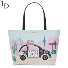 Большие полиграфические мощности водонепроницаемый женщин сумка сумка леди сумка