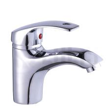 B0007-F Double handle brass bathroom faucet basin mixer