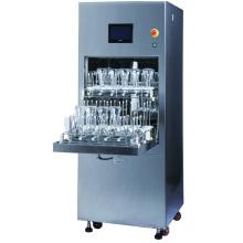 Máquina limpia de cristalería de acero inoxidable