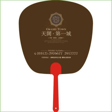 Подгонять Поощрения Круглый Бумажный Пластиковый Вентилятор Хань