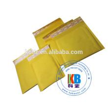 Bolsas de mensajería blancas personalizadas acolchadas de burbujas de correo sobre
