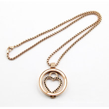 New Arrive Fashion Floating Locket Pendant Necklace