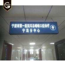 Custom aluminium subway station signs led light box