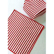 Microfiber Warp Stripe Fabrics for Kitchen Cleaning