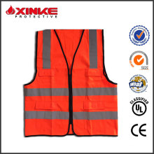 High visibility safty reflective vest with anti-UV function