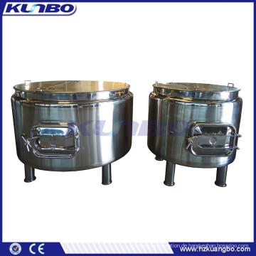 KUNBO Edelstahl 500L 1000L Bierbier Mash Tun Wasserkocher Whirlpool