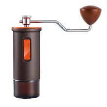 Portable Wood Grain Hand Crank Coffee Grinder Manual Coffee Bean Hand Grinder Coffee Beans Grinding Machine