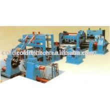 Machine de nivellement de plaque d'acier de HR CR coupée à la machine de longueur