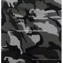 Super qualidade cvc50 / 50 32/2 * 16 110 * 52 57/58 Impressão de tingimento de tecidos para vestuário militar e preços ultra-baixos