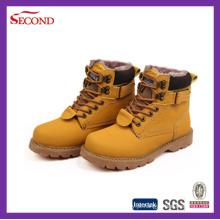 Sapatos de segurança marrom para o inverno