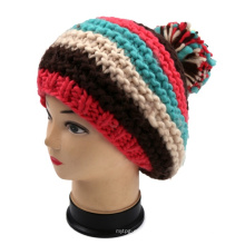 OEM Fashion Design Hand Knit Beret Hat