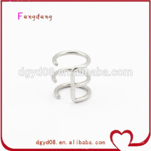 Ear clip fake body jewelry