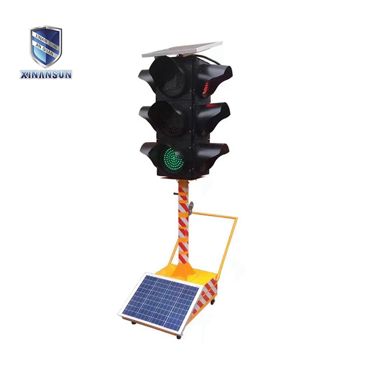 led solar traffic signal light