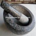 Almofariz e pilão de pedra de venda quente do granito
