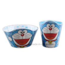 Melamine Tableware Set with Doreamon Logo (BW7164)