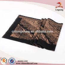 chinese ladies brushed silk scarf wholesaler
