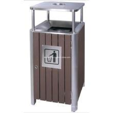 De Buena Calidad WPC cubo de basura al aire libre (DL84)