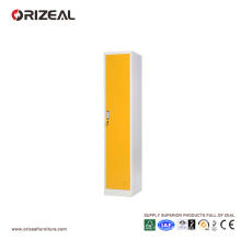 Armario de acero para deportes con una sola puerta Orizeal (OZ-OLK011)